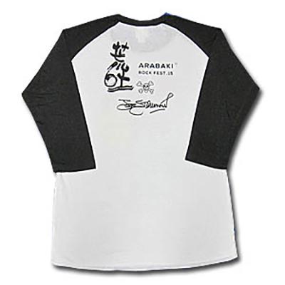 ARABAKI ROCK FEST.15×THE JOE STRUMMER FOUNDATION ラグラン7分袖 Tシャツ